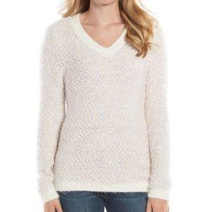 Women's LC Lauren Conrad Eyelash V-Neck Sweater